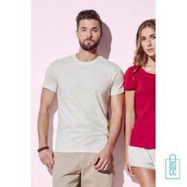 T-Shirt Mannen Biologisch Katoen bedrukken
