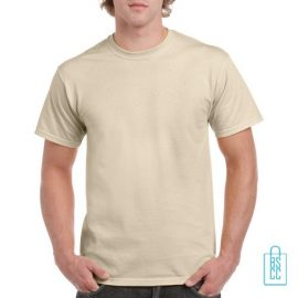 T-Shirt Mannen Budget bedrukken Zand