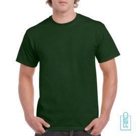 T-Shirt Mannen Budget bedrukken donkergroen