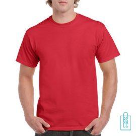 T-Shirt Mannen Budget bedrukken felrood