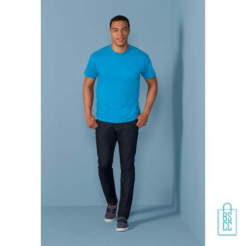 T-Shirt Mannen Budget bedrukken goedkoop