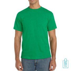 T-Shirt Mannen Budget bedrukken grasgroen