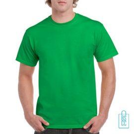 T-Shirt Mannen Budget bedrukken groen