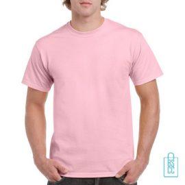 T-Shirt Mannen Budget bedrukken licht roze