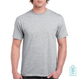 T-Shirt Mannen Budget bedrukken lichtgrijs