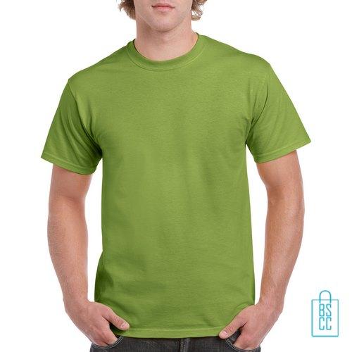 T-Shirt Mannen Budget bedrukken lichtgroen