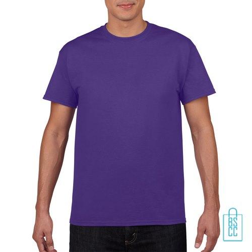 T-Shirt Mannen Budget bedrukken paars