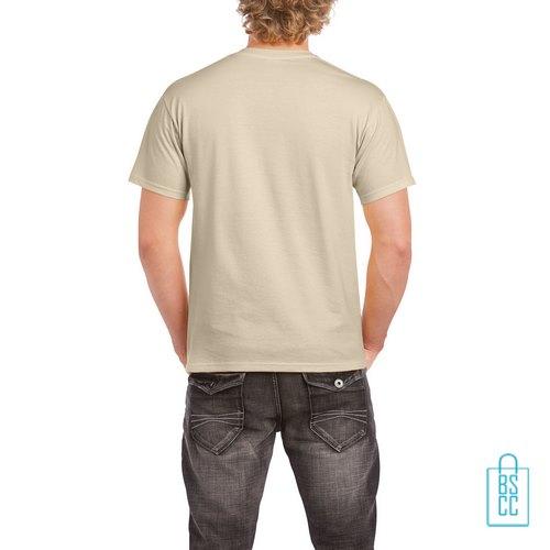 T-Shirt Mannen Budget bedrukt Zand