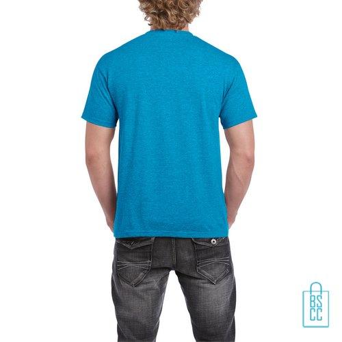 T-Shirt Mannen Budget bedrukt aqua