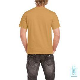 T-Shirt Mannen Budget bedrukt camel