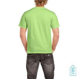 T-Shirt Mannen Budget bedrukt felgroen