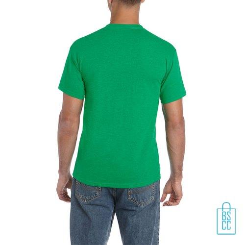 T-Shirt Mannen Budget bedrukt grasgroen