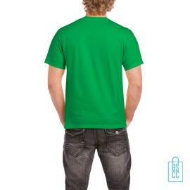 T-Shirt Mannen Budget bedrukt groen