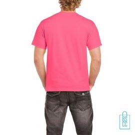 T-Shirt Mannen Budget bedrukt hardroze