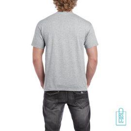 T-Shirt Mannen Budget bedrukt lichtgrijs