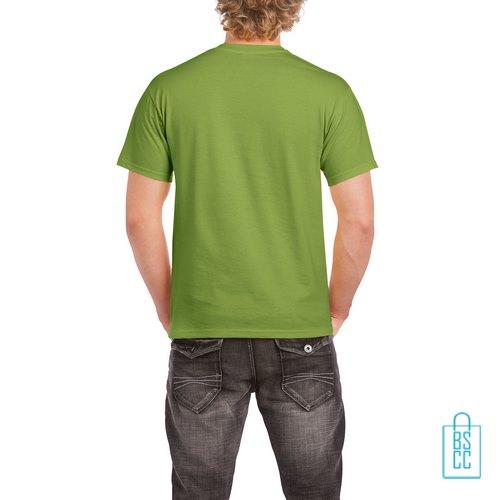 T-Shirt Mannen Budget bedrukt lichtgroen