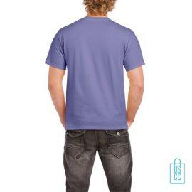 T-Shirt Mannen Budget bedrukt lila