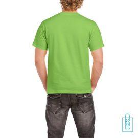 T-Shirt Mannen Budget bedrukt lime