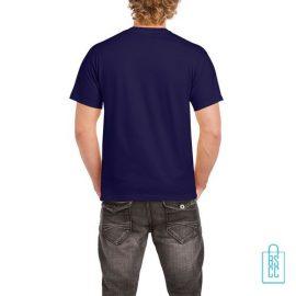 T-Shirt Mannen Budget bedrukt marineblauw