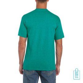 T-Shirt Mannen Budget bedrukt mintgroen