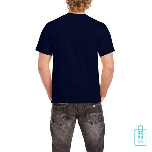 T-Shirt Mannen Budget bedrukt navy