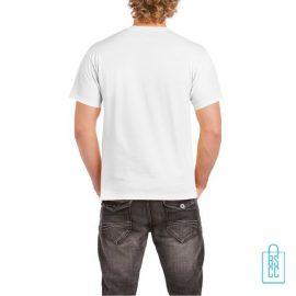 T-Shirt Mannen Budget bedruktwit