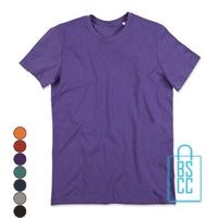 T-Shirt Mannen Recht Model bedrukken