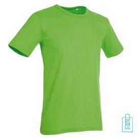 T-Shirt Mannen Soft Jersey bedrukken Groen