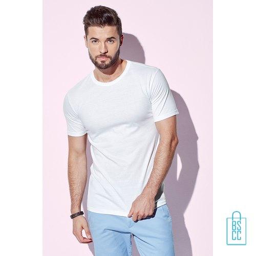 T-Shirt Mannen Soft Jersey bedrukken met logo