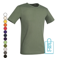 T-Shirt Mannen Soft Jersey bedrukken