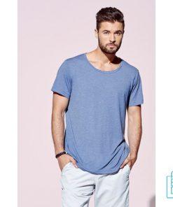 T-Shirt Mannen Vintage bedrukken met opdruk
