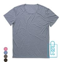 T-Shirt Mannen Vintage bedrukken
