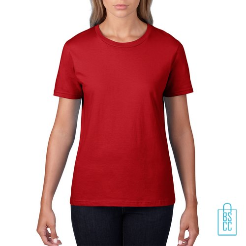 T-Shirt ronde hals bedrukken, T-shirt bedrukt, T-shirt met logo