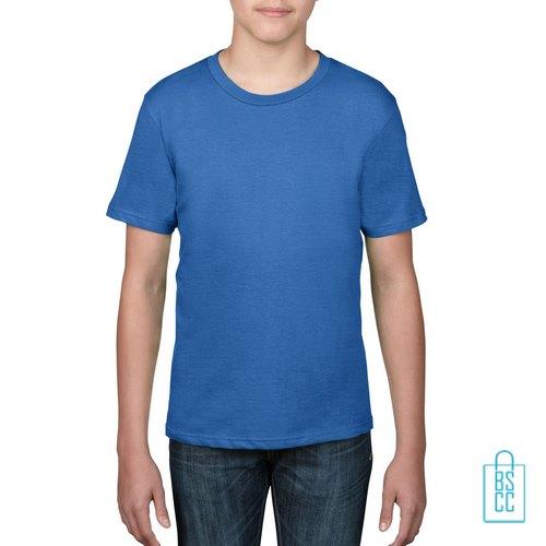 T-Shirt kind goedkoop bedrukken blauw