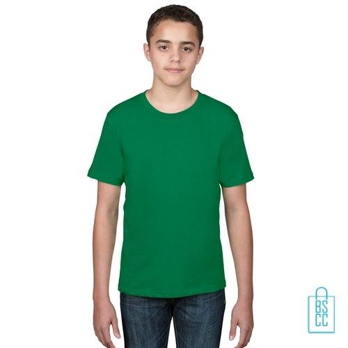 T-Shirt kind goedkoop bedrukken groen