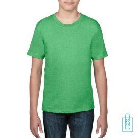 T-Shirt kind goedkoop bedrukken lichtgroen