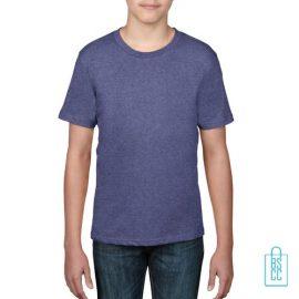 T-Shirt kind goedkoop bedrukken lichtpaars