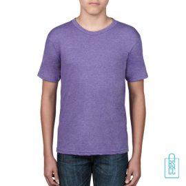 T-Shirt kind goedkoop bedrukken lila