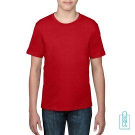 T-Shirt kind goedkoop bedrukken rood