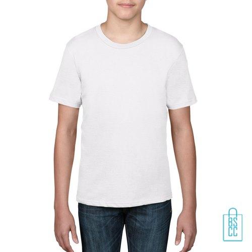 T-Shirt kind goedkoop bedrukken wit