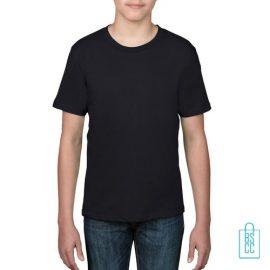 T-Shirt kind goedkoop bedrukken zwart