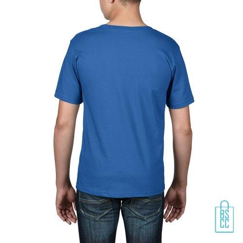 T-Shirt kind goedkoop bedrukt blauw
