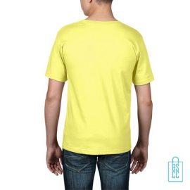 T-Shirt kind goedkoop bedrukt geel