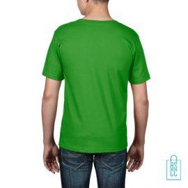 T-Shirt kind goedkoop bedrukt grasgroen