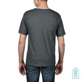 T-Shirt kind goedkoop bedrukt grijs
