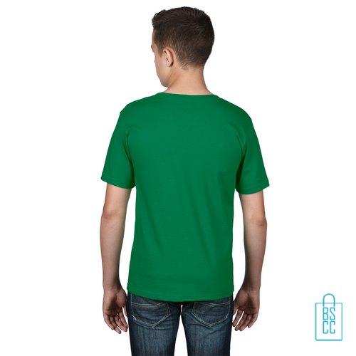 T-Shirt kind goedkoop bedrukt groen