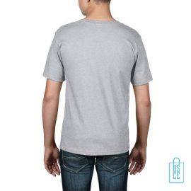 T-Shirt kind goedkoop bedrukt lichtgrijs