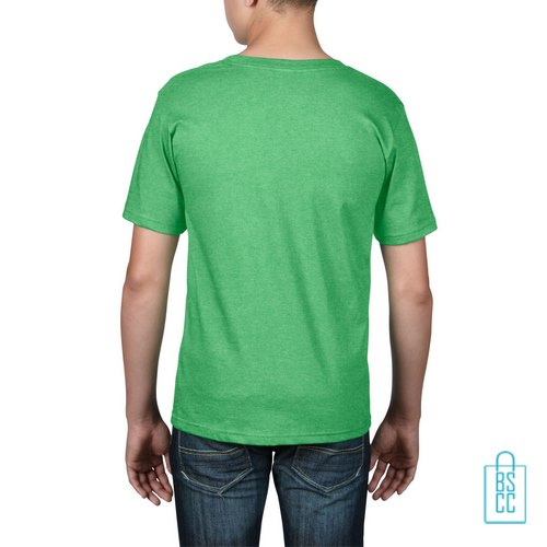 T-Shirt kind goedkoop bedrukt lichtgroen