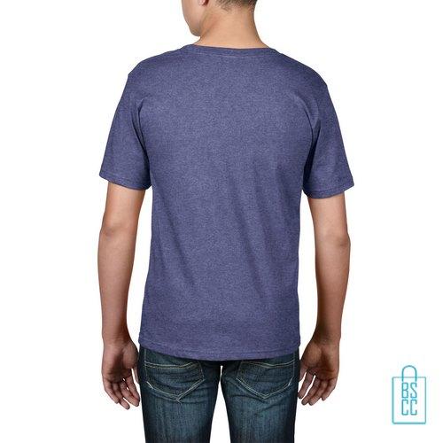 T-Shirt kind goedkoop bedrukt lichtpaars