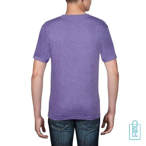 T-Shirt kind goedkoop bedrukt lila
